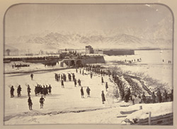 The laager abattis showing village North west corner [Sherpur Cantonment, Kabul].